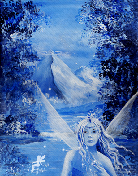 magic in the mist fairy art