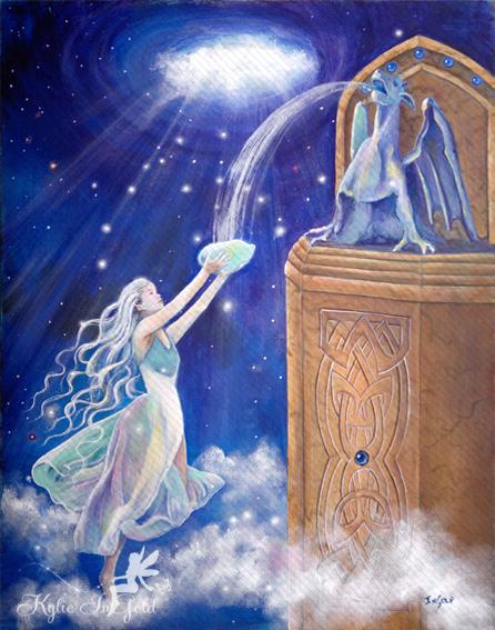 heavens reach fairy art