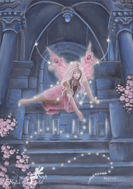 a little fairy sprinkles - fairy art